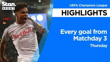 Every goal from Matchday 3 – Thursday | UEFA Champions League | 2021-22