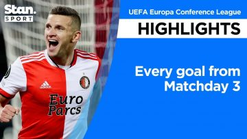 Every goal from Matchday 3 | UEFA Europa Conference League | 2021-22