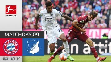 FC Bayern München – TSG Hoffenheim 4-0 | Highlights | Matchday 9 – Bundesliga 2021/22