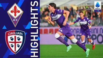 Fiorentina 3-0 Cagliari | Tris Viola al Franchi  | Serie A TIM 2021/22