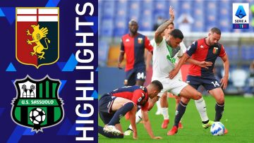 Genoa 2-2 Sassuolo | Al Sassuolo non basta la doppietta di Scamacca | Serie A TIM 2021/22