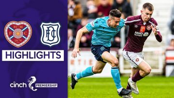 Hearts 1-1 Dundee | Late Goal Forces a Draw! | cinch Premiership