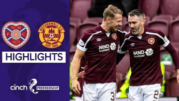 Hearts 2-0 Motherwell | Jambos Go Top of the League! | cinch Premiership