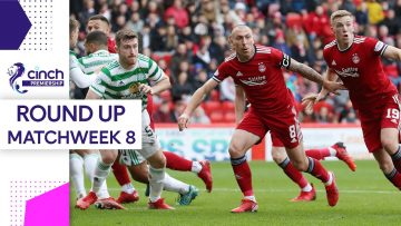 Hearts remain Undefeated! | Matchweek 8 Round-Up | cinch Premiership