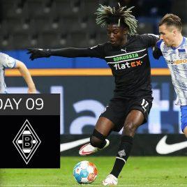 Hertha Berlin – Borussia Mgladbach 1-0 | Highlights | Matchday 9 – Bundesliga 2021/22