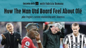 How Do The Man Utd Board Feel About Ole? Whats Pogbas Current Relationship With Juventus?