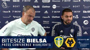 Injury updates, difficult moments, Wolves | Marcelo Bielsa press conference | Leeds United v Wolves