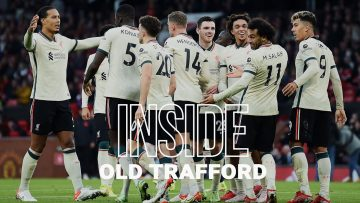 Inside Old Trafford: Man Utd 0-5 Liverpool | Amazing away end scenes as Reds hit five!