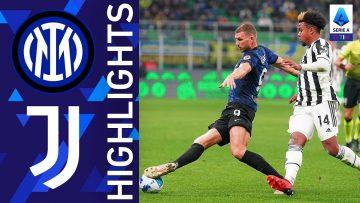 Inter 1-1 Juventus | Il Derby d'Italia finisce in pareggio | Serie A TIM 2021/22