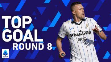 Josip Ilicic scores fantastic curler into the top corner! | Top Goals | Round 8 | Serie A 2021/22