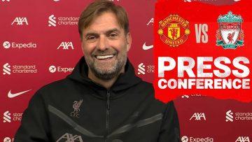 Jürgen Klopps pre-match press conference | Manchester United