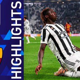 Juventus 1-0 Roma   Vittoria bianconera nel match dell'Allianz Stadium   Serie A TIM 2021/22