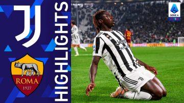 Juventus 1-0 Roma | Vittoria bianconera nel match dell'Allianz Stadium | Serie A TIM 2021/22