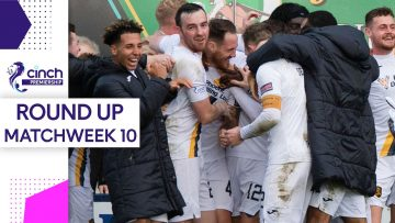 Livingstons Parkes Scores Dramatic Late Winner! | Matchweek 10 Round-Up | cinch Premiership