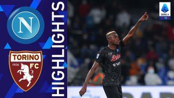 Napoli 1-0 Torino | Osimhen regala la vittoria al Napoli | Serie A TIM 2021/22