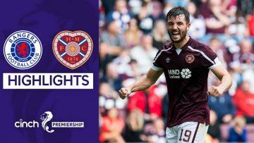 Rangers 1-1 Hearts | Late Drama Costs Rangers the Win! | cinch Premiership
