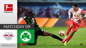 RB Leipzig – Greuther Fürth 4-1   Highlights   Matchday 9 – Bundesliga 2021/22