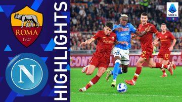 Roma 0-0 Napoli | Pareggio a reti bianche nel big match dell'Olimpico | Serie A TIM 2021/22