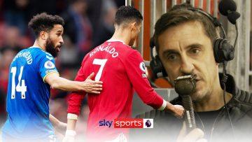 Ronaldo walk-off puts pressure on Ole | Neville on Man Utd situation