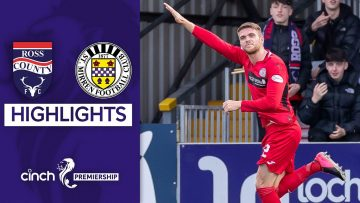 Ross County 2-3 St. Mirren | Three Straight Wins for The Buddies! | cinch Premiership