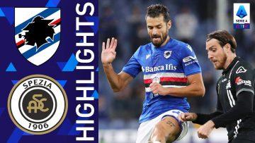 Sampdoria 2-1 Spezia | Il Derby è blucerchiato! | Serie A TIM 2021/22