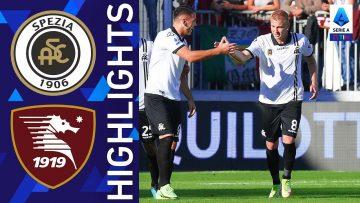 Spezia 2-1 Salernitana | Vittoria in rimonta per lo Spezia | Serie A TIM 2021/22
