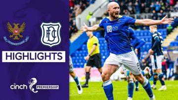 St Johnstone 3-1 Dundee | Chris Kane Brace Fires Saints to First Home Win! | cinch Premiership