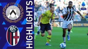 Udinese 1-1 Bologna | Finisce in parità il match della Dacia Arena | Serie A TIM 2021/22