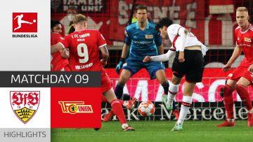 VfB Stuttgart – Union Berlin 1-1   Highlights   Matchday 9 – Bundesliga 2021/22
