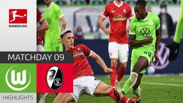 VfL Wolfsburg – SC Freiburg  0-2 | Highlights | Matchday 9 – Bundesliga 2021/22